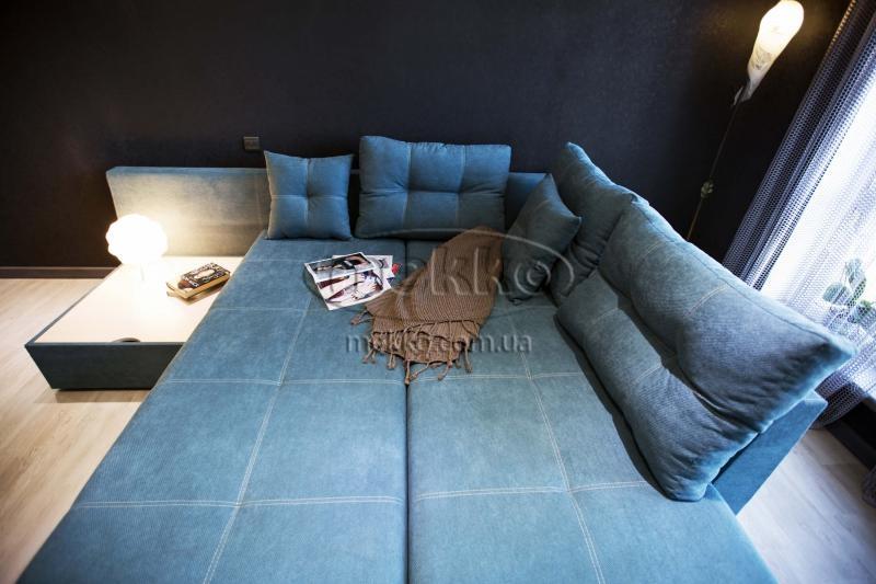 Кутовий диван з поворотним механізмом (Mercury) Меркурій ф-ка Мекко (Ортопедичний) - 3000*2150мм  Долина-3