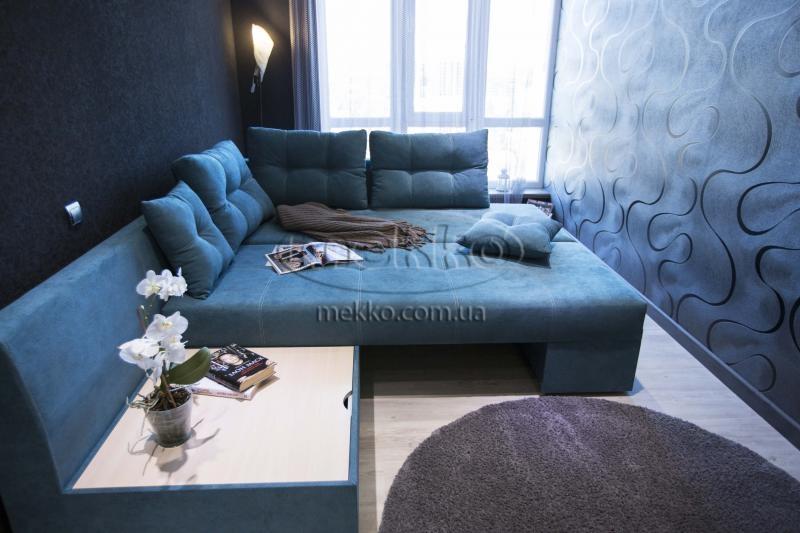 Кутовий диван з поворотним механізмом (Mercury) Меркурій ф-ка Мекко (Ортопедичний) - 3000*2150мм  Долина-4
