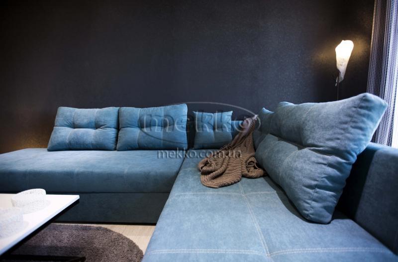 Кутовий диван з поворотним механізмом (Mercury) Меркурій ф-ка Мекко (Ортопедичний) - 3000*2150мм  Долина-5