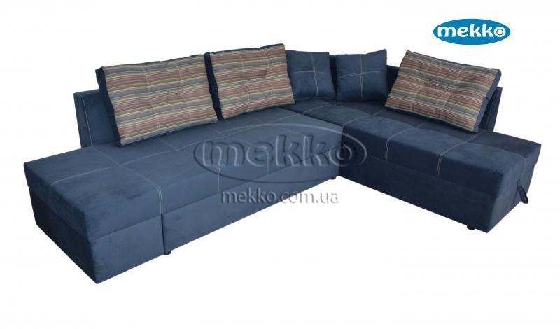 Кутовий диван з поворотним механізмом (Mercury) Меркурій ф-ка Мекко (Ортопедичний) - 3000*2150мм  Долина-13
