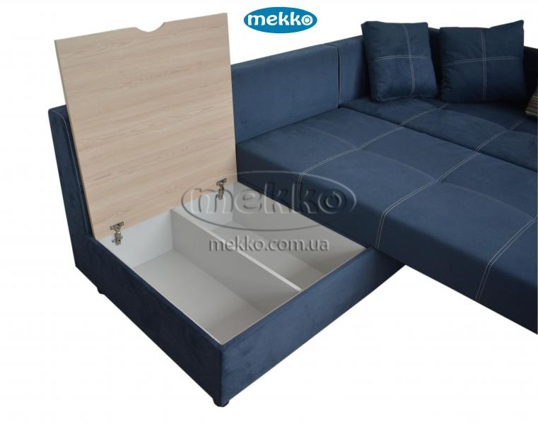 Кутовий диван з поворотним механізмом (Mercury) Меркурій ф-ка Мекко (Ортопедичний) - 3000*2150мм  Долина-18