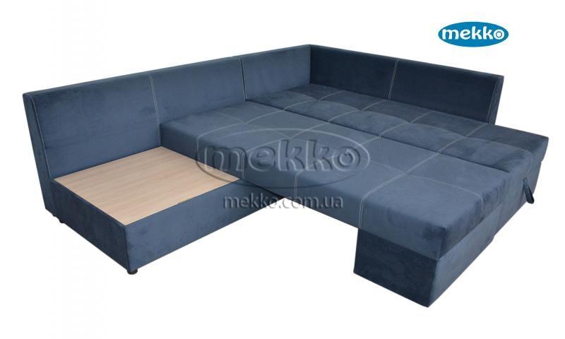 Кутовий диван з поворотним механізмом (Mercury) Меркурій ф-ка Мекко (Ортопедичний) - 3000*2150мм  Долина-16