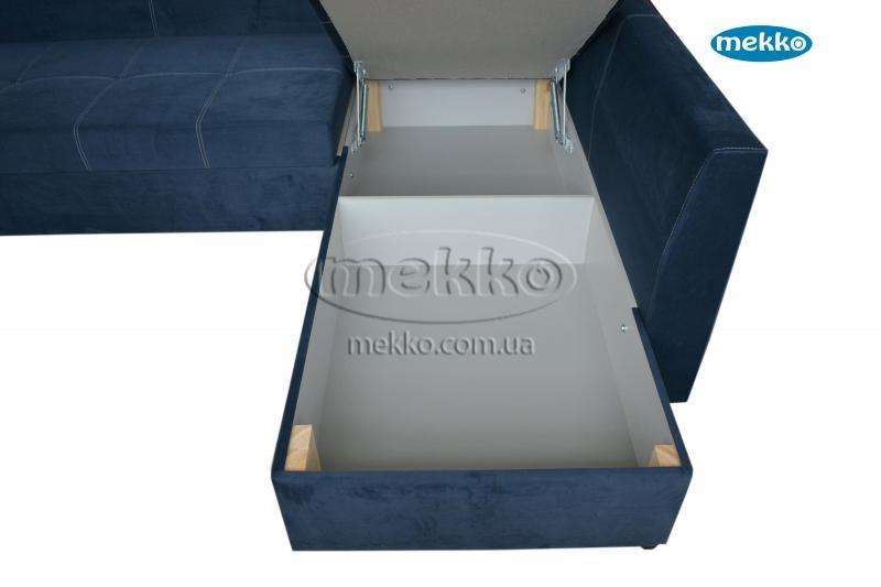 Кутовий диван з поворотним механізмом (Mercury) Меркурій ф-ка Мекко (Ортопедичний) - 3000*2150мм  Долина-20