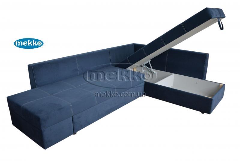 Кутовий диван з поворотним механізмом (Mercury) Меркурій ф-ка Мекко (Ортопедичний) - 3000*2150мм  Долина-14