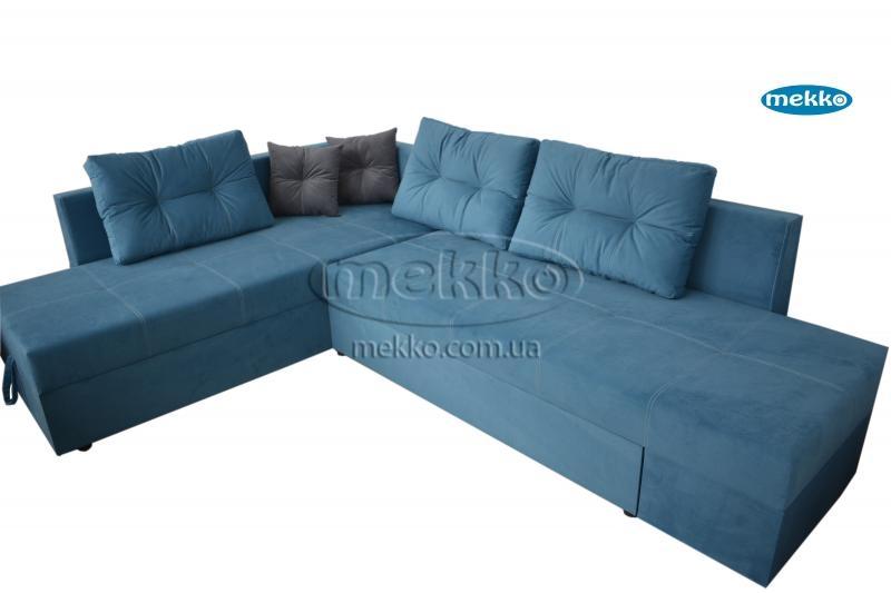 Кутовий диван з поворотним механізмом (Mercury) Меркурій ф-ка Мекко (Ортопедичний) - 3000*2150мм  Долина-10