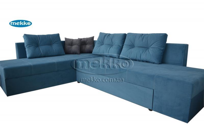 Кутовий диван з поворотним механізмом (Mercury) Меркурій ф-ка Мекко (Ортопедичний) - 3000*2150мм  Долина-11