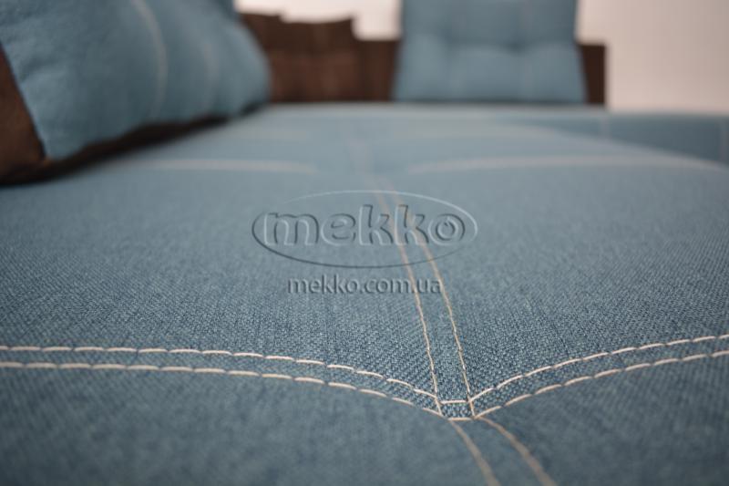 Кутовий диван з поворотним механізмом (Mercury) Меркурій ф-ка Мекко (Ортопедичний) - 3000*2150мм  Долина-9