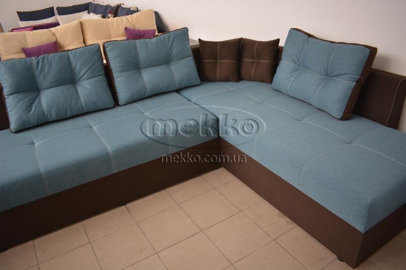 Кутовий диван з поворотним механізмом (Mercury) Меркурій ф-ка Мекко (Ортопедичний) - 3000*2150мм  Долина-8