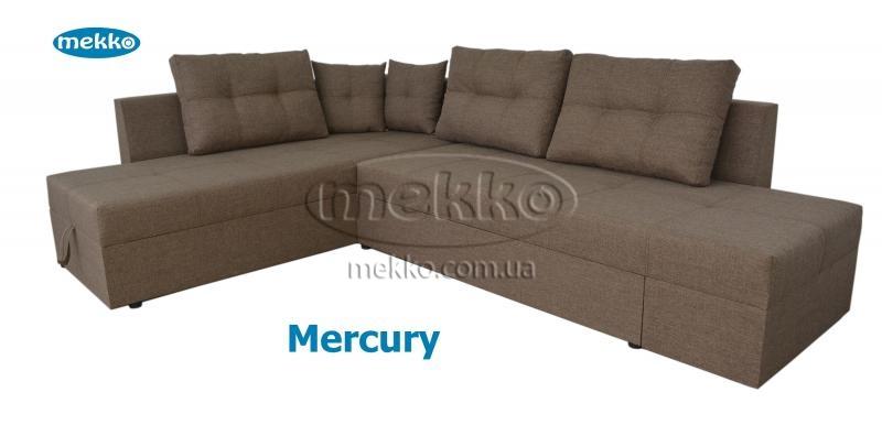 Кутовий диван з поворотним механізмом (Mercury) Меркурій ф-ка Мекко (Ортопедичний) - 3000*2150мм  Долина-12